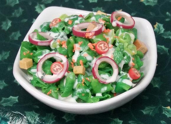 Bowl of Mixed Green Salad