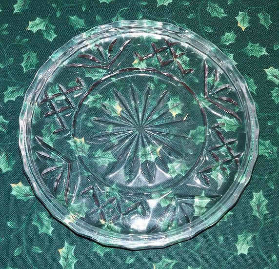 Crystal Serving Plate