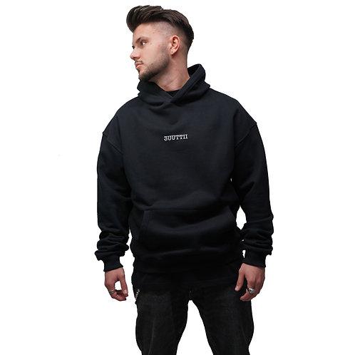 #love oversize hoodie black