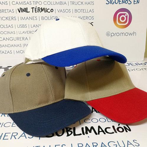 Gorras de Algodón - Doble tono