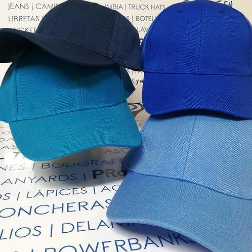 Gorras de Algodón - Tonos azules