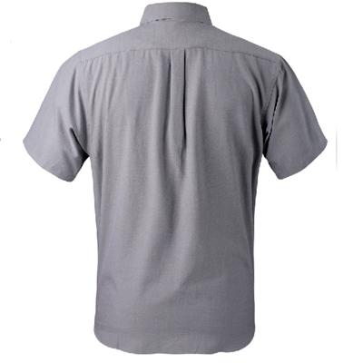 Camisa tipo oxford / parte de atras