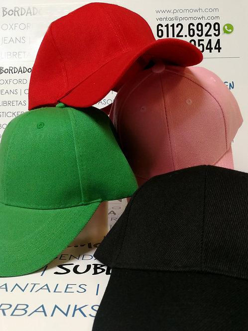 Gorras de Algodón - Tonos variados