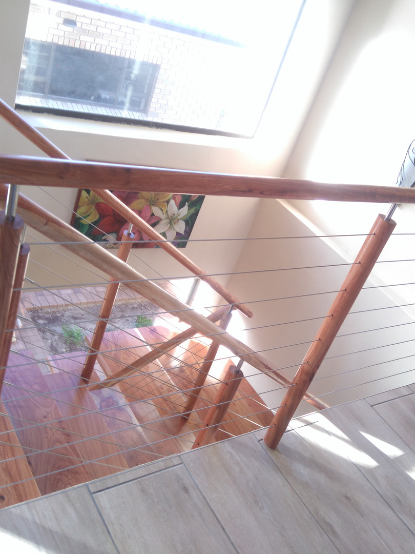SWANEPOEL STAIRS WITH CABLE BALUSTRADE.J