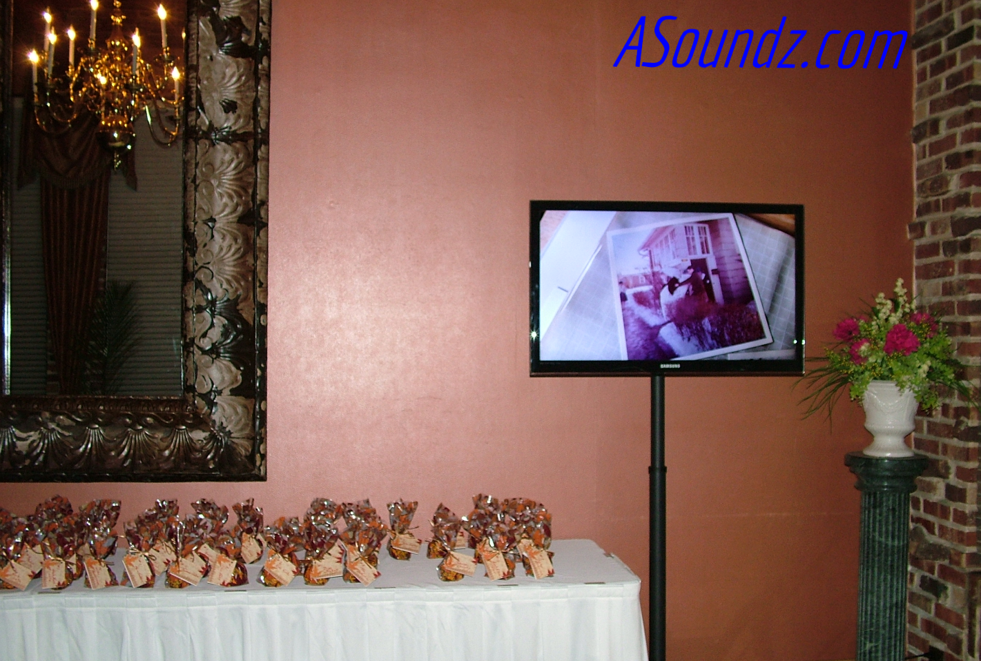 Monitor Slideshow Chicago Wedding DJ