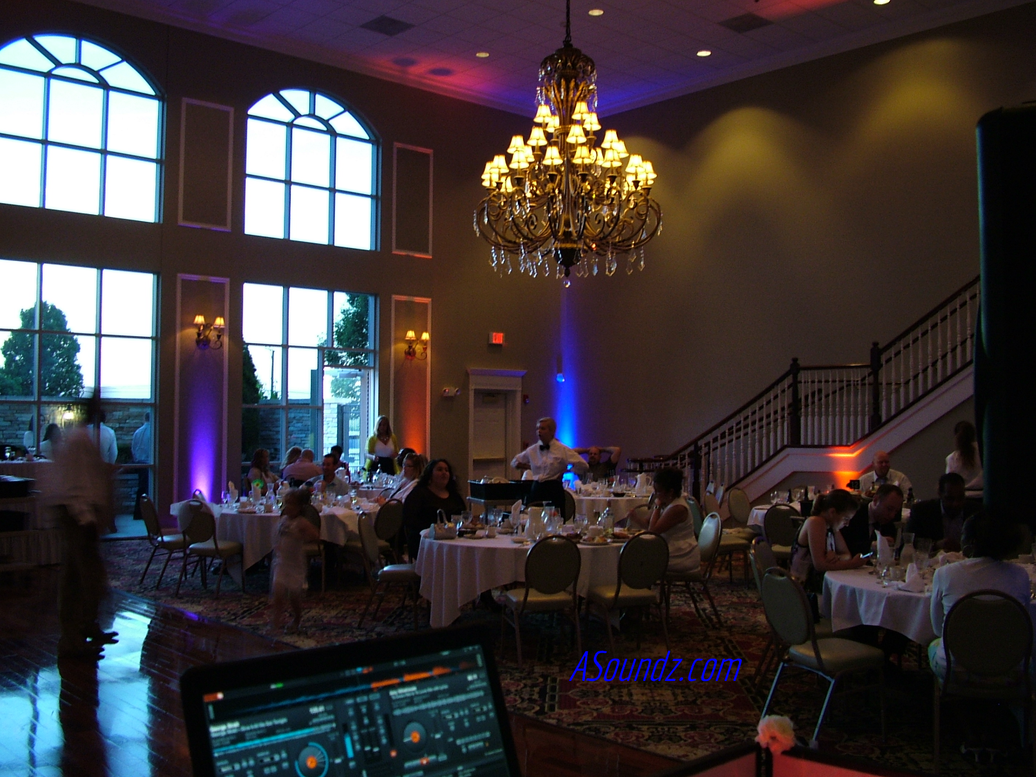 Uplights Chicago Wedding DJ