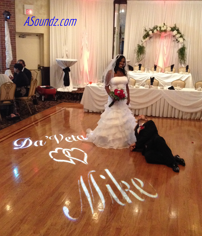 Monogram Chicago Wedding DJ