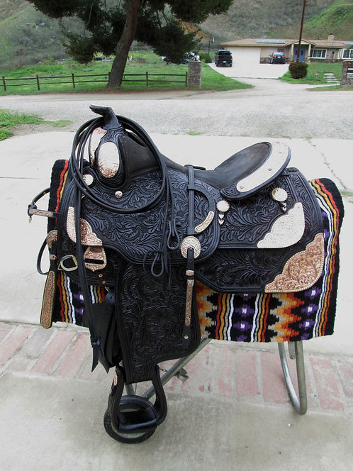 """16"""" Dale Chavez Show Set - One of a Kind and two ear headstall"""
