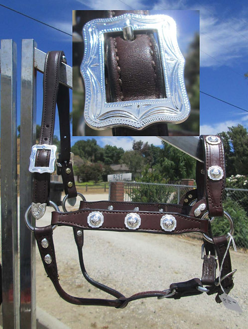 NEW - JUST 4 SHOW  SADDLERY SHOW HALTER