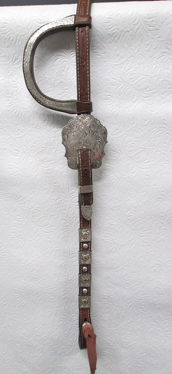 BROWN Blue Ribbon Headstall - Hard to find
