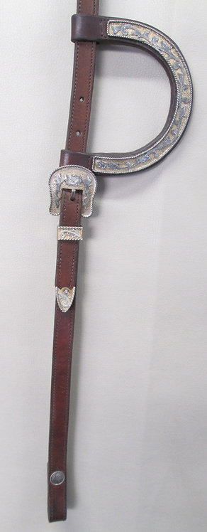 Vintage Circle Y Style headstall