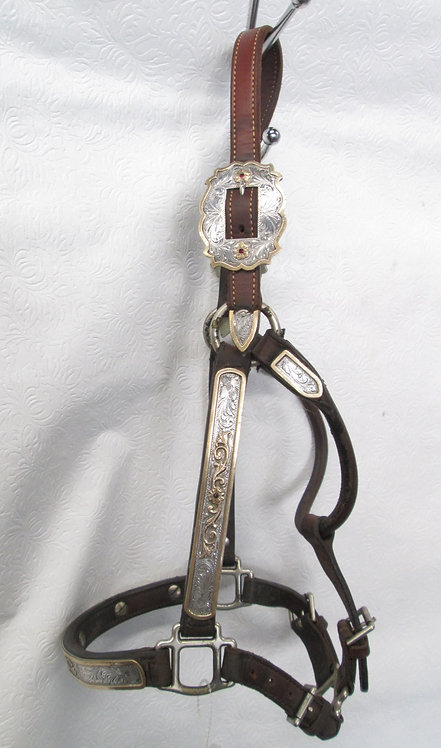 Used Broken Horn unmarked Yearling  Show Halter