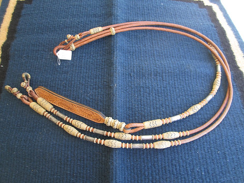 Kathy's Sterling Overlay show reins