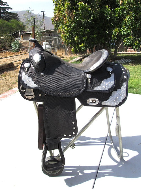 """16"""" Sterling Overlay Show Saddle"""