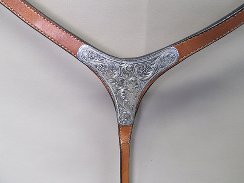 NEW Silver Plated Show Breastcollar
