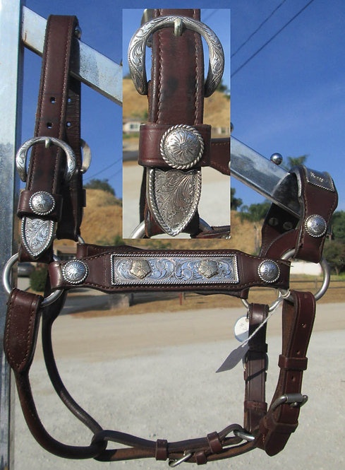 USED - UNMARKED BILLY ROYAL SHOW HALTER