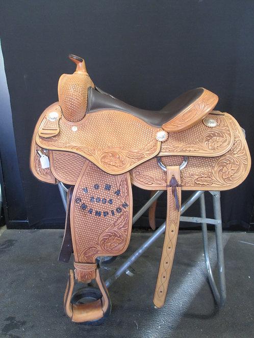 "16"" Champion Turf Reining Saddle Wide Gullet"