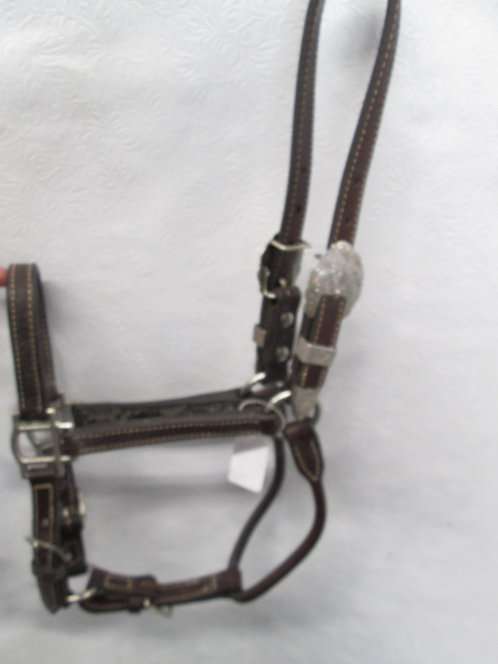 Lee & Very Wesley Show Halter - Sterling Overlay