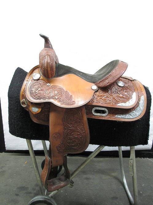 "13"" Circle Y Show Saddle"