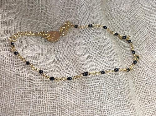 Bracelets doré avec perles