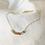 Thumbnail: Collier Anneaux perlés