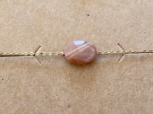 Bracelet pierre facettée