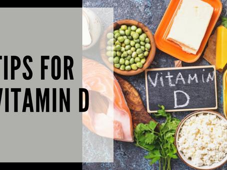 Tips for Vitamin D