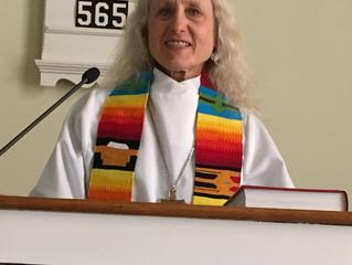 Hello from Pastor Barbara!