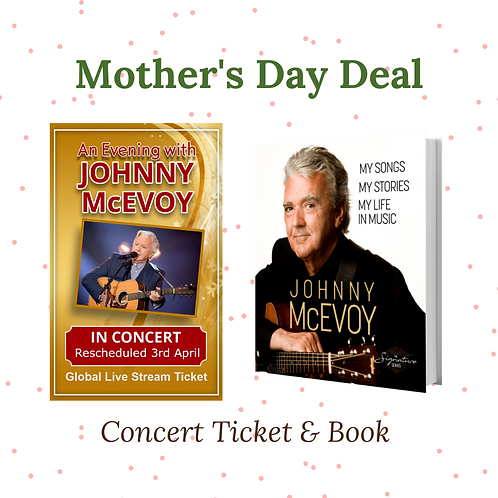 Online Concert Ticket & Book - My Songs, My Story, My Life in Music