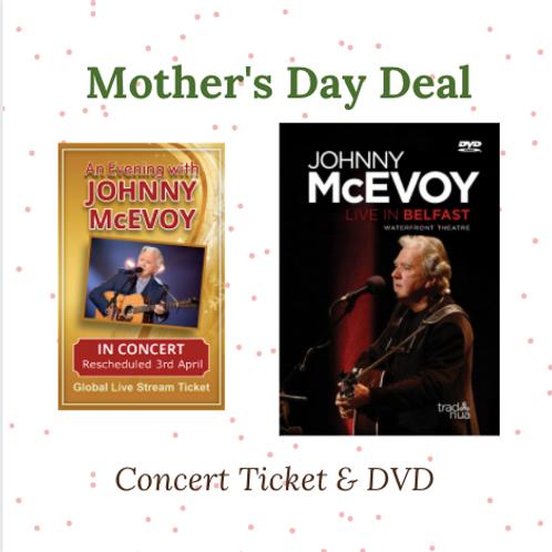 Johnny McEvoy Live DVD & Online Concert Ticket