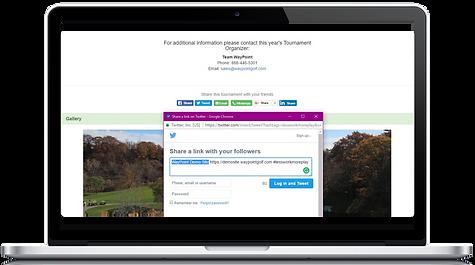 wayypointgolf, waypoint, golf tournament registrations