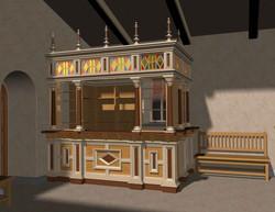 Проект церковной лавки