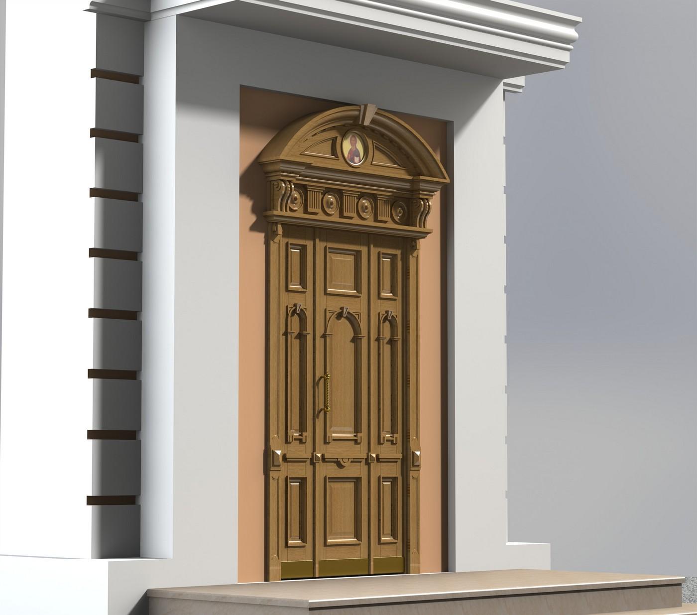 Проект входной двери