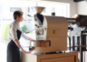 コーヒーの自家焙煎