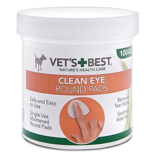 ווטס בסט פדים ניקוי לעיניים 100 יחידות Vets' Best Eye Cleaning Pads