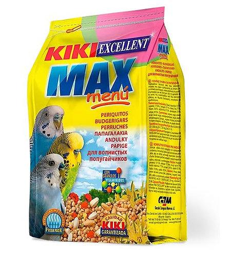 קיקי מזון לתוכנים 1 קילו Max Menu Periquitos