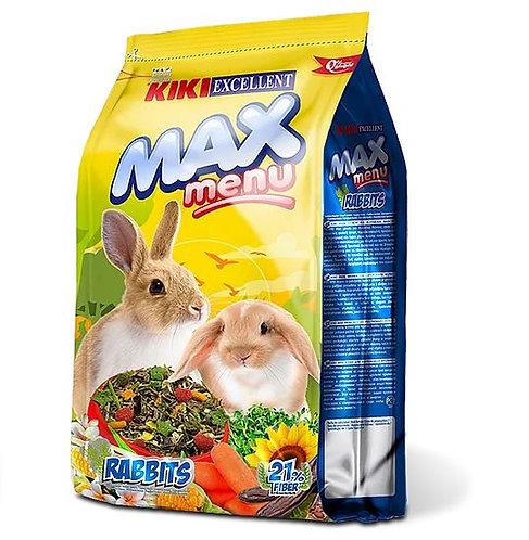 קיקי מזון לארנב 1 קילו Max Menu Conejos