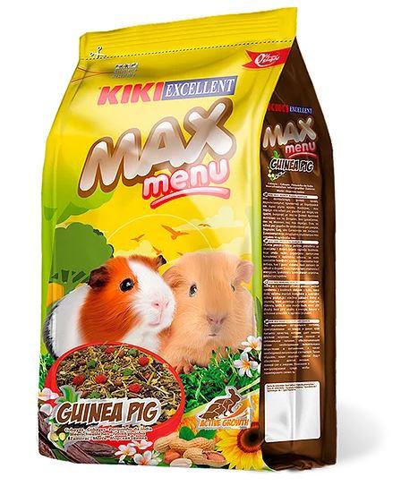 """קיקי מזון לשרקן 1 ק""""ג Max Menu Cobayas"""