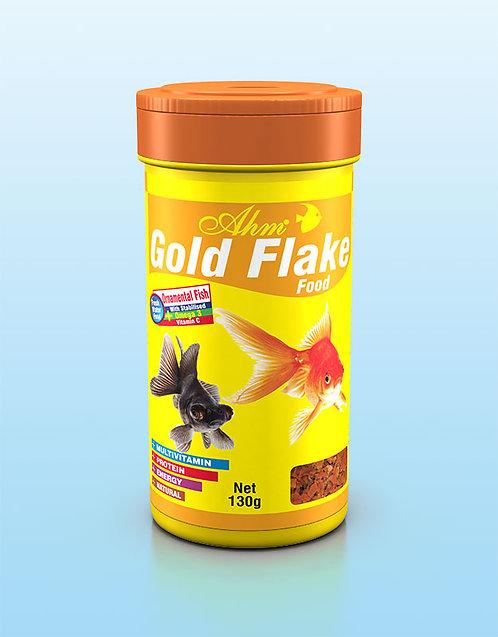 GOLD FLAKE FOOD מזון לדגי זהב דפים AHM