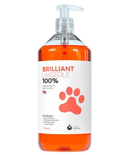 Hofseth Biocare Brilliant 100% Unrefined Fresh Norweigianשמן סלמון נורווגי 100%