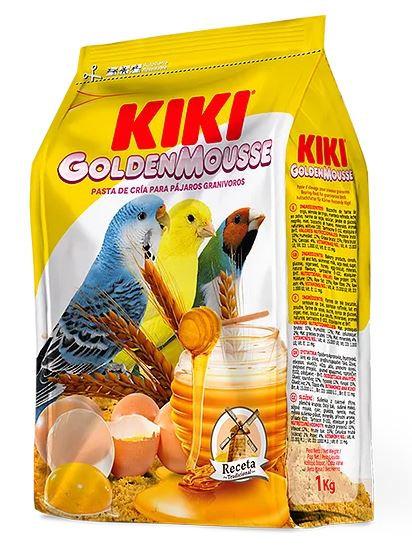 """קיקי מזון ביצים 1 ק""""ג rearing food for granivorous birds"""
