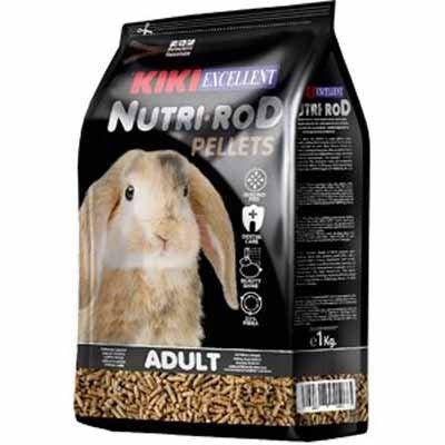 קיקי כופתיות לארנב ננסי 1 קילו KIKI NUTRI-ROD