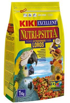 """קיקי כופתיות לתוכים 1 ק""""ג KIKI Nutri-Psitta for parrots"""