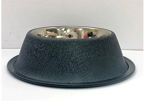 """קערת נירוסטה לקוקר ספנייל עיצוב מקורזל 11ס""""מ Cocker Spaniel stainless steel bowl"""