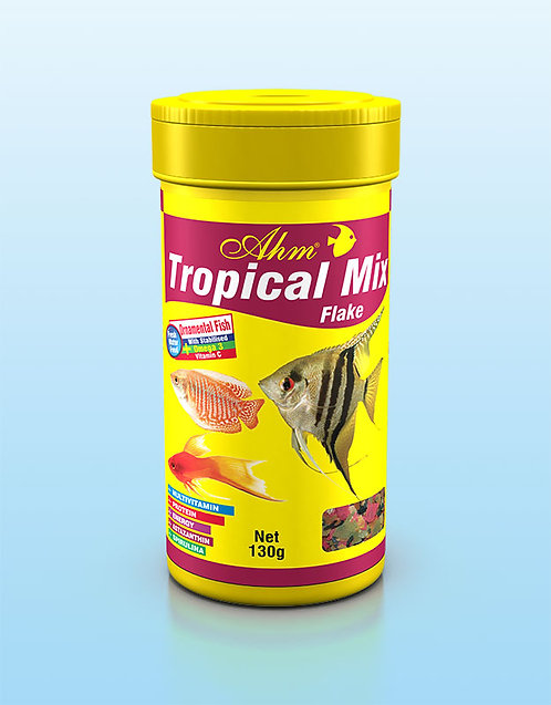 TROPICAL MIX FLAKE מזון לדגי טרופיקל דפים