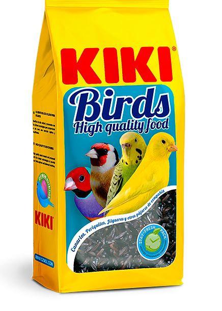 קיקי זרעים שחורים מזון המשפר את הרבייה 400 גרם KIKI BIRDS NEGRILLO