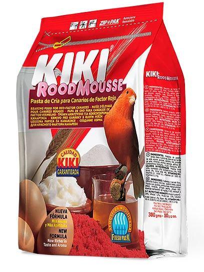 """קיקי מזון ביצים לכנרים מחזק צבע אדום 1 ק""""ג kiki rearing food for red factor cana"""