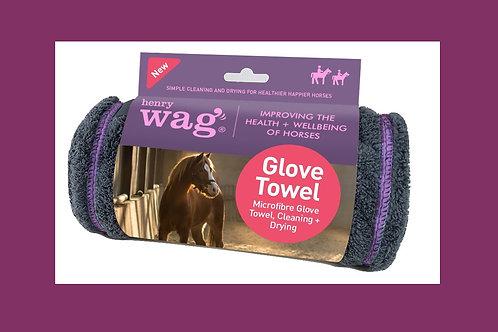 מגבת כפפה מיקרו-סיבית לסוס Equine Microfibre Glove Towel