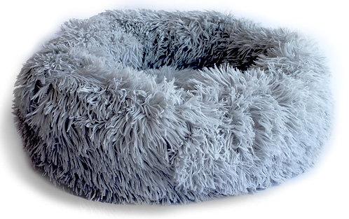 מיטה פרוותית נוחה במיוחד לכלב או לחתול SUPER PETS fluffy dog bed