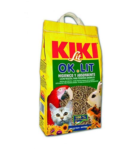 קיקי מצע משובח למכרסמים לתוכים וחתולים 10 ליטר KIKI LIT OK.LIT
